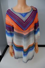 Missoni NEW Kaftan Dress Cover Up Uk 14 Size 50 Bnwts Knitted
