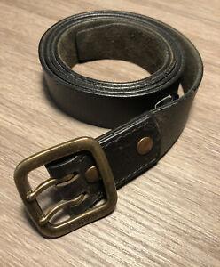 G-Star Leather Belt - Black Brown