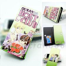 Anime Ouran High School Host Club Long Wallet Purse Handbag Bag Layers Holder 1x