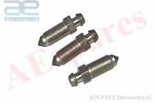 NEW WHEEL CYLINDER SCREW BLEED BLEEDER 3 UNITS WILLYS JEEP @CAD