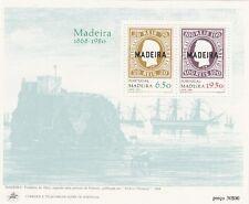 Madeira 1980 Bf 1 Emissione rievocativa primi  francobolli Mnh