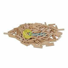 200Pk Dowel Pins 6 X 30mm Hand Tools Timber Joinery Joints DIY Quality