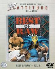 WWF Best of Raw Vol 1 1999 DVD Orig WWE Wrestling The Rock
