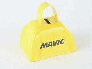 RARE Mavic / Volkswagen VW Cyclocross Cow Bell YELLOW Promo Swag