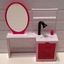 2015 Mattel Barbie Doll House Furniture Sparkle Style Hair Salon