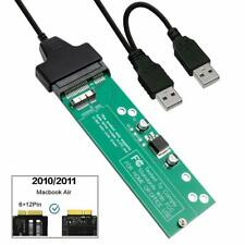 SSD to SATA Converter for Macbook 2011/2010 Air A1370 A1369 +SATA to USB Adapter