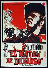 1955 Cuba Movie Poster by Eladio Rivadulla.MATON de Durango.Mexico film art.RARE