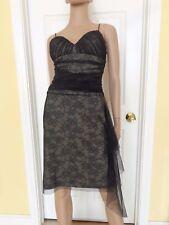 BCBG black lace party dress size 4