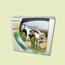 "Schleich 41374 - Scenery Pack ""Pinto Stute"" ! new in box !"