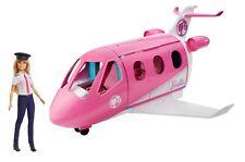 Mattel Barbie Reise Traumflugzeug mit Puppe Flugzeug Pilotin Flieger Puppenhaus