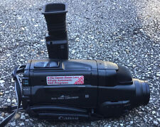 Canon Es100 8mm Video Camcorder w/ Case, Batteries, Remote, Manual, and Charger