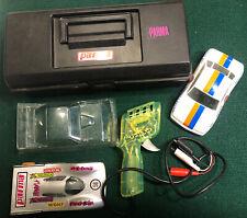 Vintage Slot Car Lot - Parma International Set 1/24 Flexi-Kar Controller & Case