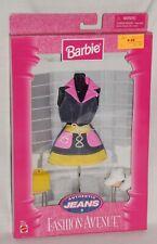Barbie Authentic Jeans Fashion Avenue Denim Skirt Ensemble (NEW)
