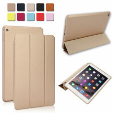Hard Leather Smart Case Cover Sleep Wake for Apple iPad 2 3 4 Mini 1/2/3 Air 1/2