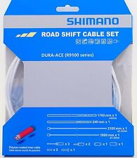Shimano Dura-Ace ST-R9100 Polymer Road Shift Cable Kit Set Gear WHITE Y0BM98020