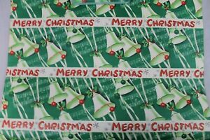 Vintage Mid Century Mod Christmas Gift wrap Wrapping Paper