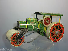 VINTAGE TIPPCO  No. CLOCKWORK TIN-PLATE  STEAM ROAD ROLLER
