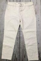 DL1961 Size 34 Porcelain White Florence Instasculpt Skinny Crop Jeans