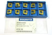 10 Plaquettes à Perceuse F04 P25M15K15 R0,5 097263 CM3 Wohlhaupter Neuf H22904