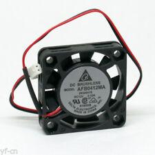 100pcs Delta AFB0412MA 40x40x10mm 4010 12V 0.10A 2pin 5 Blades DC Brushless Fan