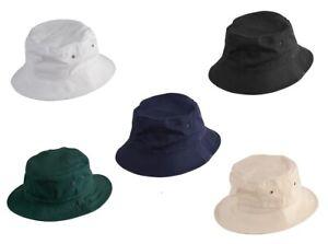 NEW STYLISH SOFT WASHED BUCKET HAT SPORTS SUNCAP MEN'S SUMMER HAT
