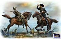 Master Box 35184 - 1/35 - British And German Cavalrymen, WWI Plastic Model Kit