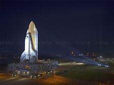SPACE SHUTTLE ATLANTIS LAUNCHES FROM KSC ART PRINT POSTER 413PYA