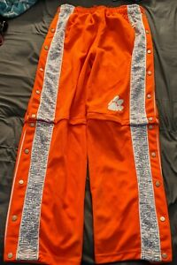 Starter Vintage Clemson Tigers Breakaway Convertible Pants Mens Large