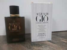 Armani Acqua Di Gio Absolu Instinct 2.5 oz EDP New Mens Cologne 100% Authentic