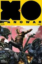 X-O Manowar #1 Mico Suayan Interlocking 1:20 Variant Cover (Valiant, 2017) NEW