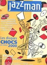 JAZZMAN, LA REVUE DES TOUS LES JAZZ N°64. DECEMBRE 2000. COUVERTURE SERGE CLERC.