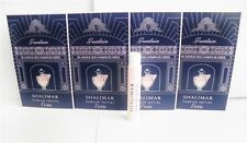 Guerlain Shalimar Parfum Initial L'eau Women 1 ml .03 oz Spray Sample x4 pcs