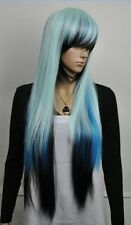 long Multi-Color straight lady's synthetical wig/wigs