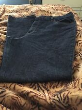 BASIC EDITIONS Classic Fit Woman's Blue Jeans Size 18