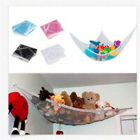 Toy Hammock Hanging Storage Net Corner Kids Stuffed Jumbo Animals Organizer GEMS