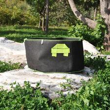 5PCS x 30 Gallon Fabric Grow Pots Grow Bags Smart Dirt Plant with 2 Nylon Handle