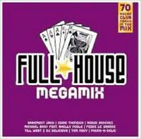 FULL HOUSE MEGAMIX VOL.1 SAMPLER 2 CD NEW+