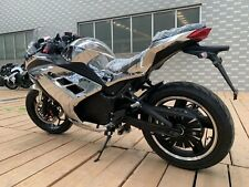 Super Power Silver 10,000W 120km/h Racer Electric Motorbike
