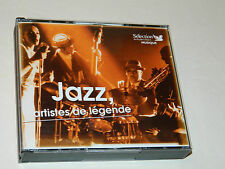 lot coffret 5 CD JAZZ Artistes de Legende +100 TITRES
