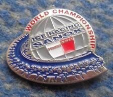 WORLD CHAMPIONSHIPS ICE SPEEDWAY POLAND SANOK  2011 PIN BADGE