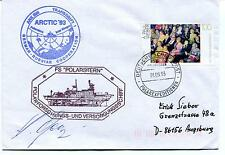 1993 Polarstern Germany Russia CCCP Schiffspost Polar Antarctic Cover SIGNED