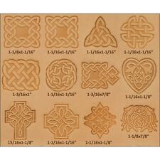 Conjunto de sello de Cuero de Diseño Celta-sello Craftool 3d