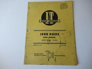 1960 John Deere 435D 440I tractor repair service shop manual