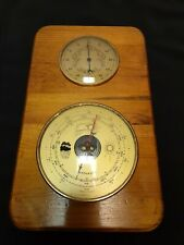 """New listing Vintage """"Baromaster"""" Barometer And Thermometer, Made In France"""