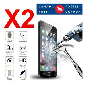 Tempered Glass Screen Protector for iPhone / Strong adhesive / Anti fingerprint