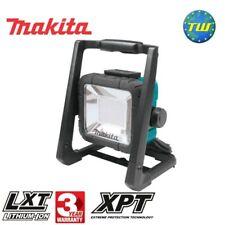 Makita DML805 18 V LXT Li-ion Cordless & 240 V CON FILO LED Luce di lavoro solo corpo
