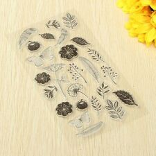 STAMPS Leaf Flower Butterfly Pattern DIY Fun Decoration Supplies