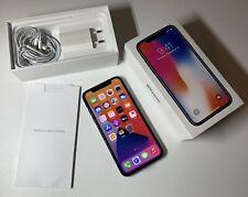 iPhone X - Noir - 256 Go Désimlocké - Avec accessoires Complet