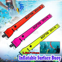 1.8m Inflatable Scuba Diver SMB Surface Marker Buoy Underwater Visibility