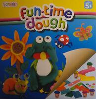 20 Piece Fun Time Play Dough Set (5 Tubs of Dough, Moulds, Cutter, Shooter)
